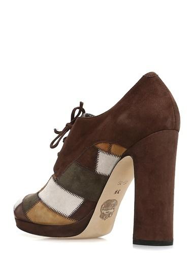 Divarese Topuklu Ayakkabı Kahve